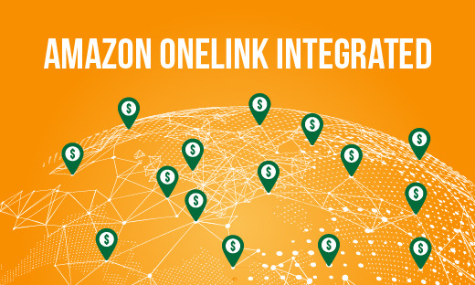 Earn Commission from international traffic via OneLink for your Amazon product comparison table